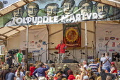 Jeremy Corbyn, Tolpuddle Martyrs Festival, Dorset. - Jess Hurd - 2010s,2019,banner,banners,Dorset,Festival,FESTIVALS,Jeremy Corbyn,Labour Party,member,member members,members,MP,MPs,PEOPLE,politician,politicians,SPEAKER,SPEAKERS,speaking,SPEECH,Tolpuddle Martyrs Fes