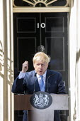 Boris Johnson outside 10 Downing Street having been appointed British prime minister, Westminster, London. - Jess Hurd - 2010s,2019,Boris Johnson,CONSERVATIVE,Conservative Party,conservatives,Downing Street,London,minister,MP,MPs,outside,POL,political,politician,politicians,Politics,Prime Minister,Street,Westminster