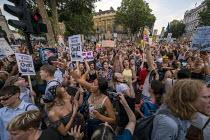 Fck Boris Johnson Protest Westminster London