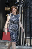 Nicky Morgan leaving Downing Street after their first cabinet meeting, Westminster, London - Jess Hurd - 2010s,2019,Boris Johnson,cabinet,CONSERVATIVE,Conservative Party,conservatives,Downing Street,FEMALE,leaving,London,meeting,MEETINGS,MP,MPs,Nicky Morgan,people,person,persons,POL,political,politician,