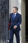 Grant Shapps leaving Downing Street after their first cabinet meeting, Westminster, London - Jess Hurd - 25-07-2019