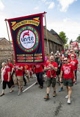 UNITE at Tolpuddle Martyrs Festival, Dorset. - Jess Hurd - 2010s,2019,banner,banners,Dorset,Festival,FESTIVALS,member,member members,members,parade,PEOPLE,Tolpuddle Martyrs Festival,Tolpuddle Martyrs' Festival,Trade Union,Trade Union,Trade Unions,Trades Union