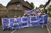 WASPI Women, Tolpuddle Martyrs Festival, Dorset. - Jess Hurd - 2010s,2019,adult,adults,AGE,banner,banners,Dorset,ELDERLY,equality,FEMALE,Festival,FESTIVALS,inequality,member,member members,members,OAP,OAPS,OLD,parade,pension,pensioner,pensioners,pensions,PEOPLE,p