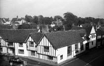The mediaeval village of Lavenham, Suffolk, 1958 - Kurt Hutton - 05-09-1958