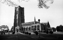Parish Church of St Peter and St Paul Lavenham Suffolk 1958 - Kurt Hutton - 20-10-1958