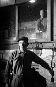 Steelworkers, Dalzell Steel Mill Motherwell 1958 - Kurt Hutton - 1950s,1958,EBF,Economic,Economy,employee,employees,Employment,FACTORIES,factory,heat,hot working,job,jobs,LBR,maker,makers,making,male,man,manual labour,men,mill,mills,people,person,persons,plant,prod