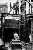 Local children playing together in adventure playground Notting Hill west London 1970Local children playing together in adventure playground Notting Hill west London 1970Local children playing togethe... - Clive Capel - 14-05-1970