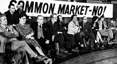 No to the Common Market rally 1975, Central Hall Westminster, Tribune Group of MPs campaigning for a leave vote in the ReferendumNo to the Common Market rally 1975, Central Hall Westminster, Tribune G... - Chris Davies - 10-04-1975