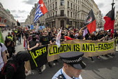 LAFA London Anti Fascist Assembly against Free Tommy Robinson protest, London - Jess Hurd - 03-08-2019