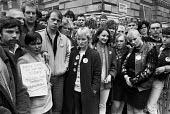 Unemployed and homeless youth from the North East protest against cuts, Downing Street, Whitehall, London 1985 - NLA - 29-04-1985