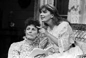 Vanessa Redgrave, daughter Natasha Richardson, Chekhov play The Seagull, Queens Theatre, London 1985 - NLA - 1980s,1985,act,acting,actor,actors,actress,actresses,Anton Chekhov,Charles Sturridge,daughter,DAUGHTERS,FEMALE,Irina Arkadina,London,Natasha Richardson,Nina,people,person,persons,play,playing,plays,Se