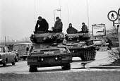 Army and Police operation occupying Heathrow Airport 1974