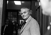 Vere Harmsworth, 3rd Viscount Rothermere of Associated Newspapers, 1975 attending talks between the NGA print union and the Newspaper Publishers Association, London - NLA - 17-01-1975