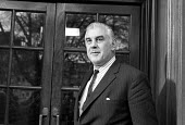 Duke Hussey, managing director of Associated Newspapers and chief executive of Times Newspapers 1975 attending talks between the NGA print union and the Newspaper Publishers Association, London - NLA - 17-01-1975