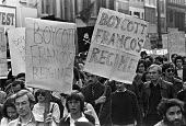 Protest against death sentences and executions in Spain by the Franco regime, London, 1975 - NLA - 18-10-1975