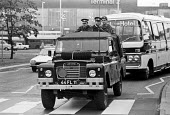 Troops, including tanks and armoured cars, occupy London's Heathrow Airport in response to security threats, including from the IRA--one of several such occupations in the 1970s and beyond. - Peter Arkell - 26-06-1974