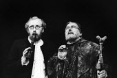 Nicol Williamson as Hamlet (L) and Mark Dignam as Polonius (R) in Hamlet by William Shakesepeare directed by Tony Richardson Roundhouse Theatre London 1969Nicol Williamson as Hamlet (L) and Mark Digna... - Patrick Eagar - 17-02-1969