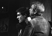 Actor Tom Courtenay (C) as Andri in Andorra by Max Frisch and directed by Lindsay Anderson Old Vic Theatre London 1964Actor Tom Courtenay (C) as Andri in Andorra by Max Frisch and directed by Lindsay... - Romano Cagnoni - 1960s,1964,ACE,act,acting,actor,actors,Andorra,arts,culture,drama,DRAMATIC,entertainment,London,play,PLAYING,plays,stage,theatre,THEATRES,Tom Courtenay