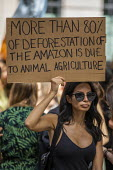 Extinction Rebellion protest against the fire destruction of the Amazon rainforest, Brazilian Embassy, London - Jess Hurd - 2010s,2019,activist,activists,against,Amazon,Bolsonaro,Brazilian Embassy,CAMPAIGN,campaigner,campaigners,CAMPAIGNING,CAMPAIGNS,cities,City,climate change,crisis,deforestation,DEMONSTRATING,demonstrati