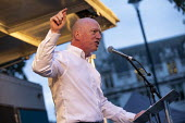 Matt Wrack FBU speaking Stop Boris Johnson - General Election Now, People's Assembly Against Austerity protest, Parliament Square, Westminster, London - Jess Hurd - 03-09-2019