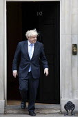 Boris Johnson into No. 10 Downing Street, Westminster, London. - Jess Hurd - 2010s,2019,Benjamin Netanyahu,Boris Johnson,CONSERVATIVE,Conservative Party,conservatives,Downing Street,London,POL,political,POLITICIAN,POLITICIANS,Politics,Street,Westminster