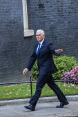 Mike Pence is welcomed by Boris Johnson into No. 10 Downing Street, Westminster, London. - Jess Hurd - 2010s,2019,CONSERVATIVE,Conservative Party,conservatives,Downing Street,London,Mike Pence,POL,political,POLITICIAN,POLITICIANS,Politics,Republican Party,republicans,Street,Westminster