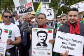 Kashmiris protest outside Parliament after India took control of Kashmir, London Muhammad Maqbool Bhat, Kashmiri separatist and founder of the National Liberation Front, was hanged in1984 in Tihar Jai... - Philip Wolmuth - 03-09-2019