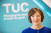 Frances O'Grady speaking, TUC Press Conference, TUC Congress, Brighton 2019. - Jess Hurd - 2010s,2019,Brighton,Conference,conferences,FEMALE,Frances O'Grady,member,member members,members,O grady,O'Grady,people,person,persons,press,press conference,SPEAKER,SPEAKERS,speaking,SPEECH,trade unio