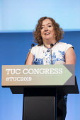 Fran Heathcote, PCS, TUC Congress, Brighton 2019. - Jess Hurd - 2010s,2019,Brighton,Conference,conferences,FEMALE,Fran Heathcote,member,member members,members,PCS,people,person,persons,trade union,trade union,trade unions,trades union,trades union,trades unions,TU
