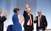 Jeremy Corbyn speaking, TUC Congress, Brighton 2019. - Jess Hurd - 2010s,2019,Brighton,Conference,conferences,FEMALE,Jeremy Corbyn,Labour Party,member,member members,members,MP,MPs,people,person,persons,POL,political,politician,politicians,Politics,SPEAKER,SPEAKERS,s