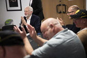 Jeremy Corbyn meeting striking workers from Harland and Wolf shipyard and striking Health Visitors, TUC Congress, Brighton 2019. - Jess Hurd - 10-09-2019