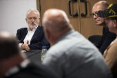 Jeremy Corbyn meeting striking workers from Harland and Wolf shipyard and striking Health Visitors, TUC Congress, Brighton 2019. - Jess Hurd - 2010s,2019,Brighton,communicating,communication,Conference,conferences,conversation,conversations,dialogue,discourse,discuss,discusses,discussing,discussion,disputes,Health,Industrial dispute,Jeremy C