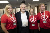 Jeremy Corbyn with Health Visitor strikers, TUC Congress, Brighton 2019. - Jess Hurd - 2010s,2019,Brighton,Conference,conferences,FEMALE,Health,Jeremy Corbyn,Labour Party,member,member members,members,MP,MPs,people,person,persons,POL,political,politician,politicians,Politics,STRIKE,stri