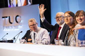 Jeremy Corbyn and Laura Pidcock speaking at a TUC Press Conference, TUC Congress, Brighton 2019. - Jess Hurd - 2010s,2019,Brighton,Conference,conferences,FEMALE,Jeremy Corbyn,Laura Pidcock,member,member members,members,people,person,persons,SPEAKER,SPEAKERS,speaking,SPEECH,trade union,trade union,trade unions,