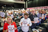 Show Racism the Red Card, TUC Congress, Brighton 2019. - Jess Hurd - 2010s,2019,bigotry,Brighton,Conference,conferences,DISCRIMINATION,FEMALE,INEQUALITY,member,member members,members,people,person,persons,prejudice,RACIAL,RACIALISTS,Racism,RACIST,Show,Show Racism the R