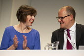 Frances O'Grady, Paul Nowak, TUC Conference, Brighton, 2019 - John Harris - 2010s,2019,Conference,conferences,FEMALE,member,member members,members,O grady,O'Grady,people,person,persons,Trade Union,Trade Union,Trade Unions,Trades Union,Trades Union,Trades unions,TUC,TUC Congre