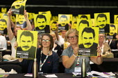 Freedom for Ocalan, TUC Conference, Brighton, 2019 - John Harris - 13-09-2019