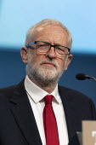Jeremy Corbyn MP speaking TUC Conference, Brighton, 2019 - John Harris - 13-09-2019