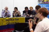 Diogenes Orjuela CUT Colombia, Justice for Colombia fringe meeting fringe meeting, TUC Conference, Brighton, 2019 - John Harris - 2010s,2019,Colombia,Conference,conferences,meeting,MEETINGS,trade union,trade unions,trades union,trades unions,TUC,TUC Congress