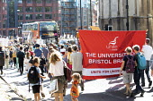 Global Climate Strike protest, Bristol - Paul Box - 2010s,2019,activist,activists,against,banner,banners,CAMPAIGNING,CAMPAIGNS,DEMONSTRATING,Demonstration,environment,environmental,Environmental degradation,Extinction Rebellion,member,member members,me
