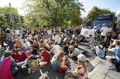 Global Climate Strike protest, Bristol - Paul Box - 2010s,2019,activist,activists,adolescence,adolescent,adolescents,against,block,blocking,blocks,CAMPAIGNING,CAMPAIGNS,child,CHILDHOOD,children,DEMONSTRATING,Demonstration,environment,environmental,Envi