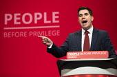 Richard Burgon speaking Labour Party Conference, Brighton, 2019 - Jess Hurd - 22-09-2019