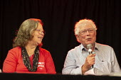Deborah Burger RNU America, Dr John Lister Speaking, Taking the NHS off the table, TWT, Brighton - John Harris - 22-09-2019