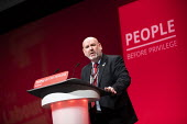 Mick Whelan ASLEF speaking Labour Party Conference, Brighton, 2019 - Jess Hurd - 2010s,2019,ASLEF,Brighton,Conference,conferences,Gen Sec,Labour Party Conference,member,member members,members,Mick Whelan,Party,POL,political,POLITICIAN,POLITICIANS,Politics,SPEAKER,SPEAKERS,speaking