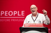 Dave Ward CWU speaking Labour Party Conference, Brighton, 2019 - Jess Hurd - 2010s,2019,Brighton,Conference,conferences,CWU,Dave Ward CWU,Gen Sec,Labour Party Conference,member,member members,members,Party,POL,political,POLITICIAN,POLITICIANS,Politics,SPEAKER,SPEAKERS,speaking
