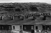 South Wales pit village near Ebbw Vale, with slagheaps and poor housing. - NLA - 25-02-1973