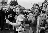 National Front heckling anti racism protest, London 1977 - NLA - 10-09-1977