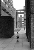 Children, new housing estate, Hunslet Grange Flats, Leeds, Yorkshire 1976 - NLA - 30-07-1976