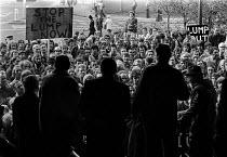 UCATT building workers protest against the Lump, Warrington, Lancashire, 1978 - Peter Arkell - 10-10-1978