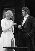 Vanessa Redgrave, Christopher Reeve, The Aspern Papers, Theatre Royal London Haymarket 1984 - Peter Arkell - 1980s,1984,ACE,acting,actor,actors,Arts,Christopher Reeve,Culture,Henry James,London,play,PLAYING,plays,stage,superman,theatre,THEATRES,Vanessa Redgrave